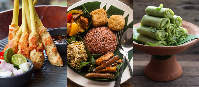 Street Food in Bali is a diverse cuisine