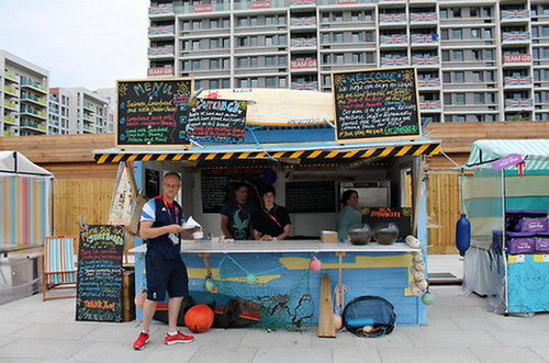 Street Food in Olympic Village