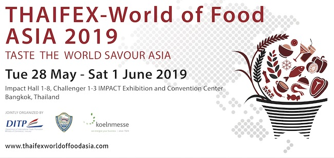 THAIFEX – World of Food Asia 2019