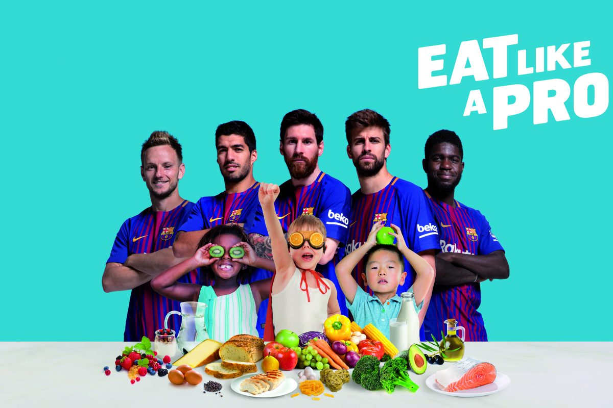 Healthy Eating Habits of Barcelona Football Players